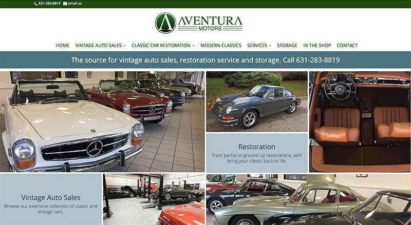 website launch aventura